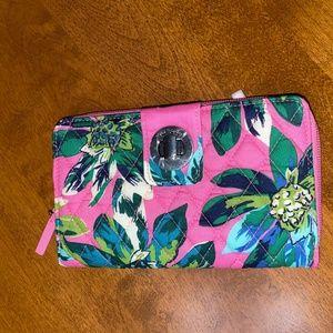 Vera Bradley Turn Lock Wallet Tropical NWT